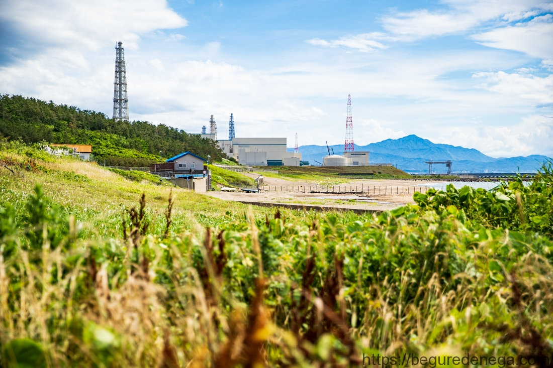 福島県からの避難者、磯貝潤子さんと柏崎刈羽原発へ行ってきました