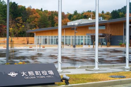【4K3面撮影】大熊町オリンピック聖火リレーコース、県道35号線の放射能測定