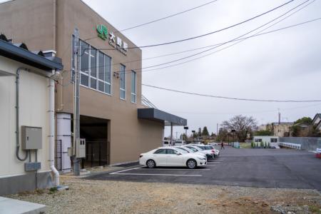 福島県大熊町大野駅周辺の線量率測定(2020年3月中旬実施)
