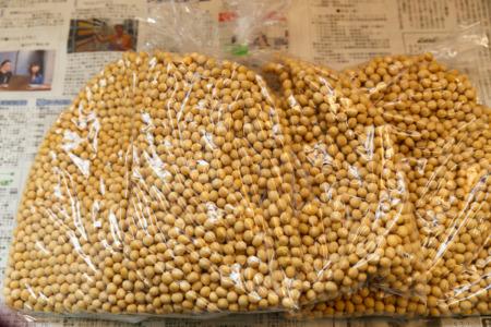 2020年12月購入 福島県南会津産大豆